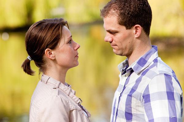 marital partners in conflict